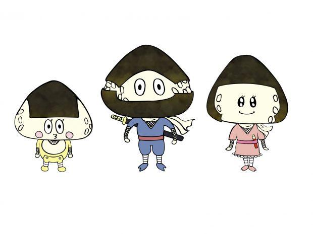 おにき_り協会キャラクター3人FIX